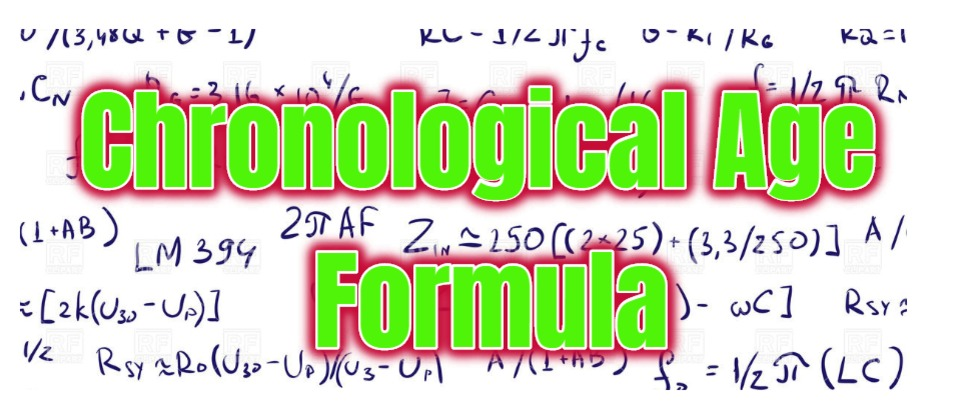 Chronological Age Formula